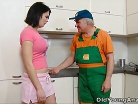 old and young sex vidio