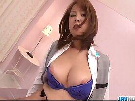 Hard sex with Asuka Japanese mom in heats