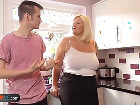 Agedlove mature blowjob and doggystyle