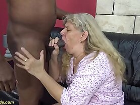first time hardcore fuck for years old granny