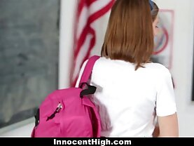 InnocentHigh Naughty New Student Gets her ass Banged
