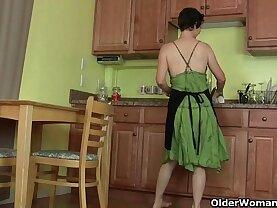 tell my husband that I masturbate in the kitchen