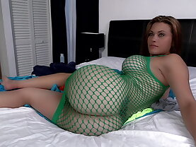 White girl with a fat ass and big tits